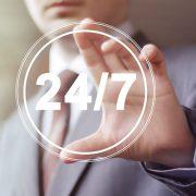 Sécurité d'esprit 24 h/24 tous les jours